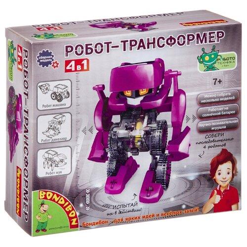 Купить Набор BONDIBON Робот трансформер 4 в 1 (ВВ3060), Наборы для исследований