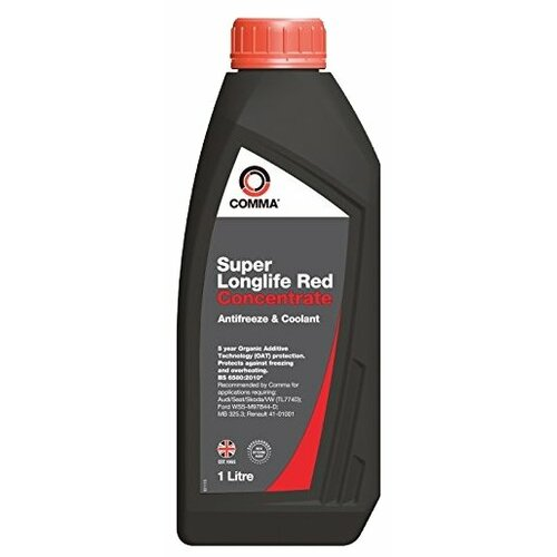 Антифриз Comma Super Longlife Red Concentrate 1 л