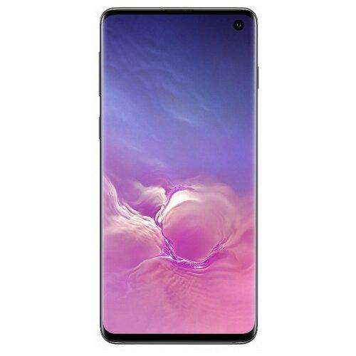 Смартфон Samsung Galaxy S10 8/128GB оникс (SM-G973FZKDSER) смартфон samsung galaxy s10 8 128gb sm g975f red