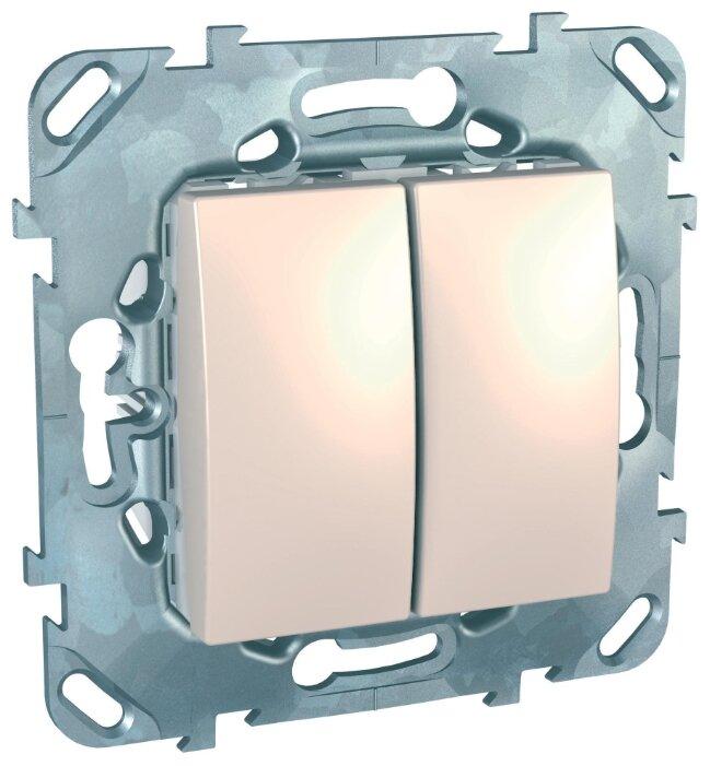 Выключатель / переключатель Schneider Electric UNICA MGU5.211.25ZD, 10А