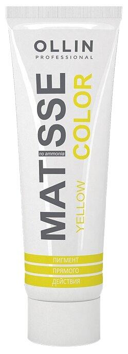Краситель прямого действия OLLIN Professional Matisse Color, желтый — купить по выгодной цене на Яндекс.Маркете