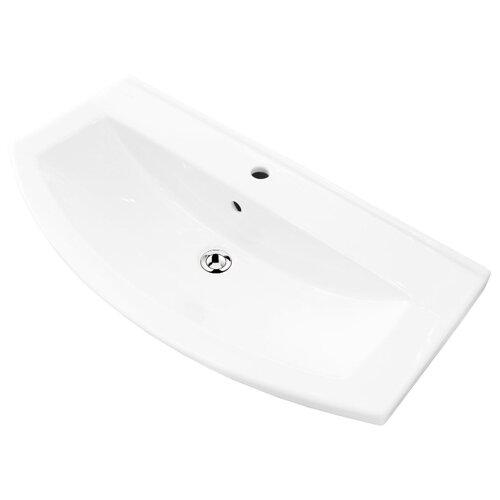 Раковина 85 см SANITA LUXE BEST 85 белый писсуар sanita luxe long белый lngslur01