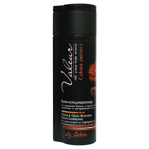 Фото - Liv Delano Крем-кондиционер VALEUR для сохранения блеска и яркости цвета окрашенным и мелированным волосам, 250 г регенерирующая маска liv delano valeur для восстановления волос с поврежденной структурой 25г