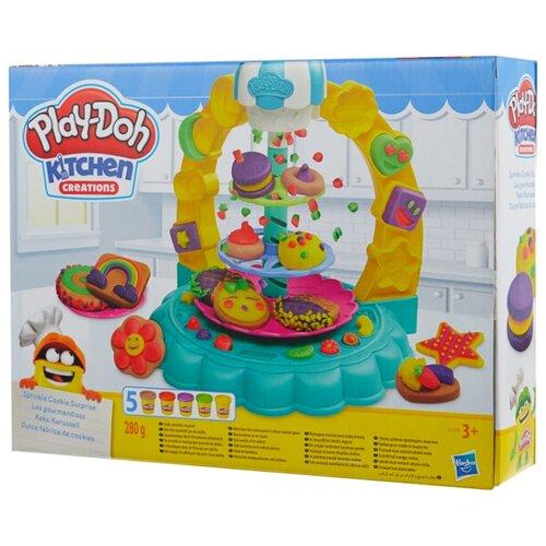 Масса для лепки Play-Doh Kitchen Creations Карусель сладостей (E5109) play doh play doh малыши динозаврики