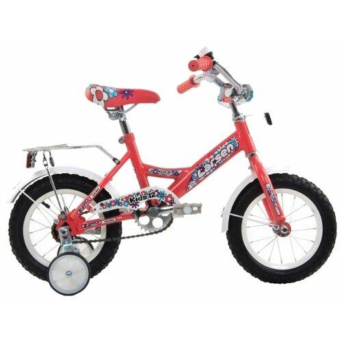 цена на Детский велосипед Larsen Kids 12 Girl (2016) коралловый (требует финальной сборки)