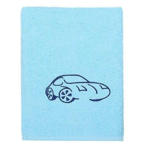 Kidboo Полотенце Машинка банное 70х100 см голубой полотенце банное ecotex авеню голубой серый