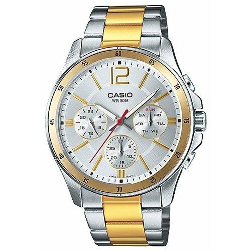 Фото - Наручные часы CASIO MTP-1374SG-7A наручные часы casio mtp 1253d 7a