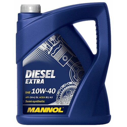 Моторное масло Mannol Diesel Extra 10W-40 5 л моторное масло mannol gasoil extra 10w 40 1 л