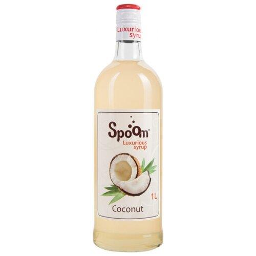 Сироп SPOOM Кокос 1 лДесертные соусы и топпинги<br>