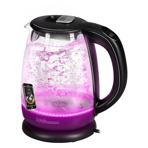 умный чайник светильник redmond skykettle g200s Чайник REDMOND SkyKettle G210S, черный