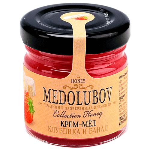Крем-мед Medolubov Клубника и банан 40 мл