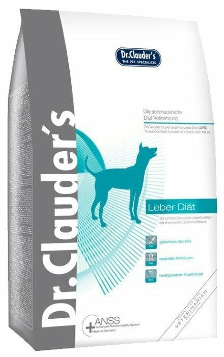 Корм для собак Dr. Clauder's Liver diet для собак при заболеваниях печени (1 кг)