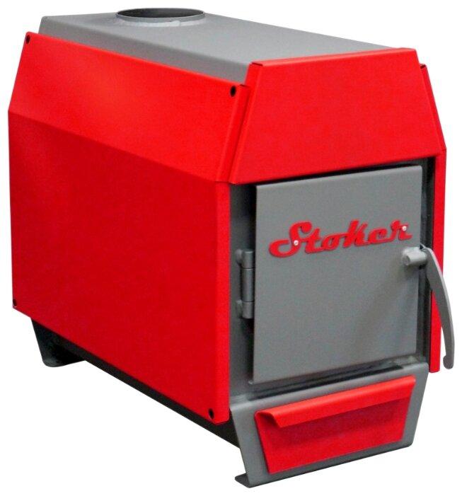 Твердотопливный котел Stoker АОТВ 8-Э, 8 кВт, одноконтурный фото 1