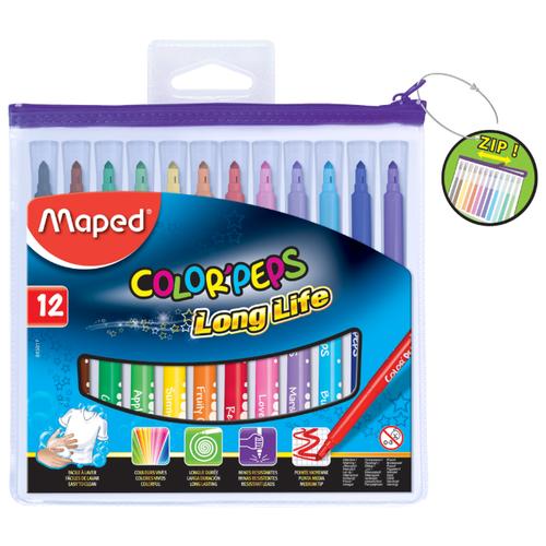 Купить Maped Фломастеры Color'Peps Long Life 12 шт. (845017)