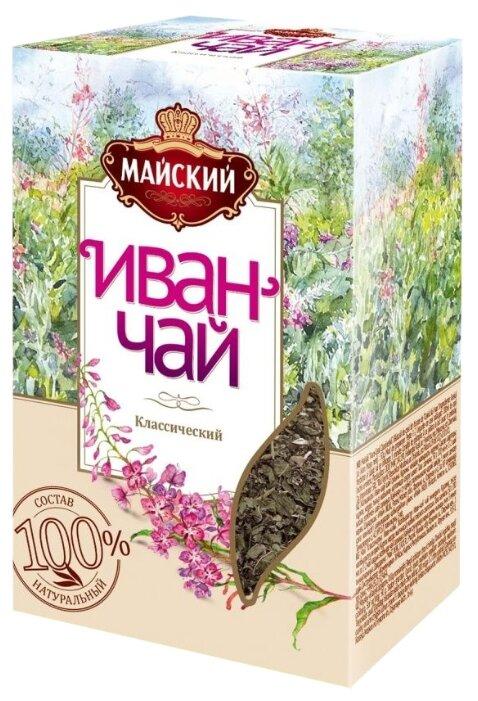 Чайный напиток травяной Майский Иван-чай Классический — купить по выгодной цене на Яндекс.Маркете