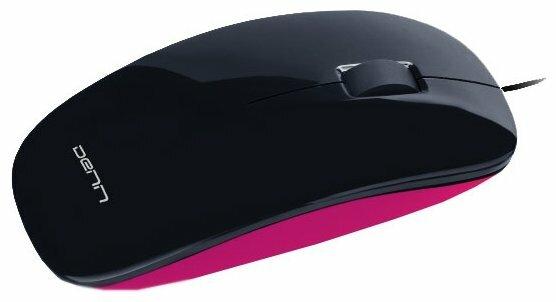 Мышь DENN DOM416P Pink USB