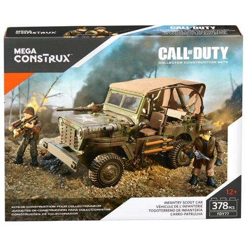 Конструктор Mega Construx Call of Duty FDY77 Разведывательная машина пехоты