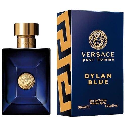 Купить Туалетная вода Versace Versace pour Homme Dylan Blue, 50 мл