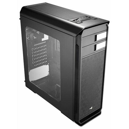 Компьютерный корпус AeroCool Aero-500 Window Black Edition корпус системного блока aerocool v2x black edition 600w black 4713105954517