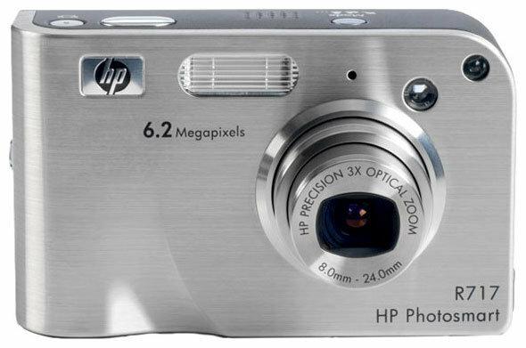 Фотоаппарат HP Photosmart R717