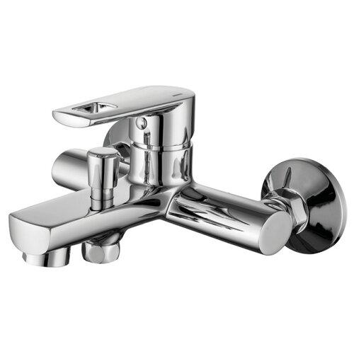 Фото - Смеситель для ванны с подключением душа IDDIS Runo RUNSB00i02WA однорычажный смеситель для ванны iddis runo runsbl2i10wa универсальный хром