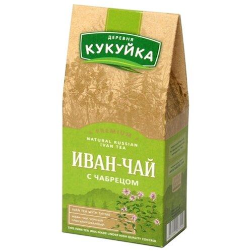 Чай травяной Деревня Кукуйка Иван-чай с чабрецом , 50 г фото