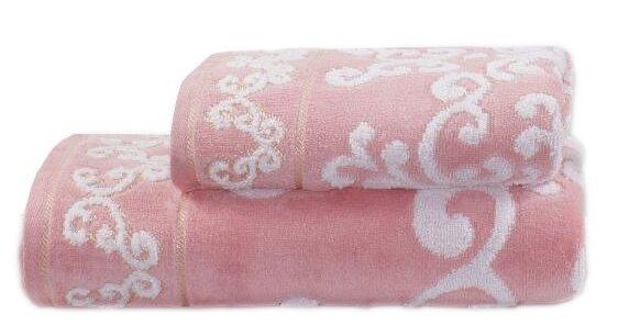 Guten Morgen полотенце Амалия универсальное 50х90 см розовый