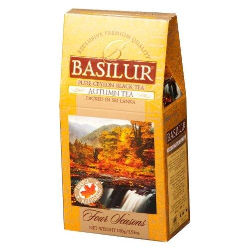 Чай черный Basilur Four seasons Autumn tea , 100 г basilur tea book v черный листовой чай 100 г жестяная банка