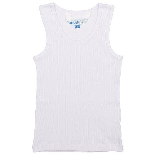Майка MODIS размер 98, белый, Белье и пляжная мода  - купить со скидкой