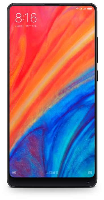 Сотовый телефон Xiaomi Mi Mix 2S 6/128GB Black