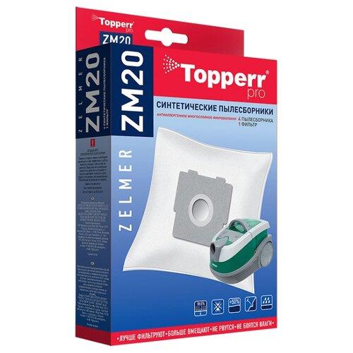 Topperr Синтетические пылесборники ZM20 4 шт. недорого