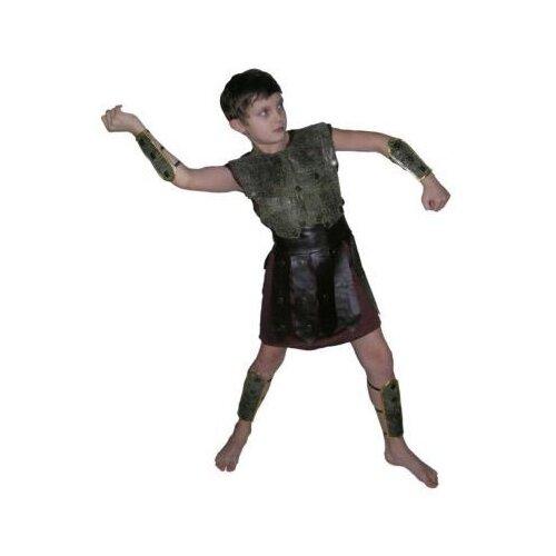 Купить Костюм SNOWMEN Спартак Е70828, черный, размер 11-14 лет, Карнавальные костюмы