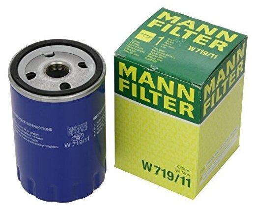 Масляный фильтр MANNFILTER W719/11