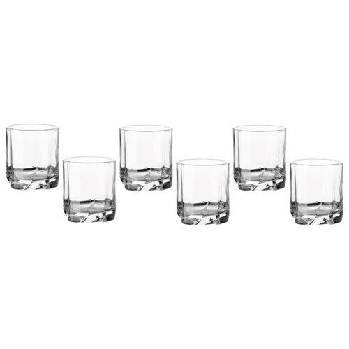 Pasabahce Набор стаканов Luna 368 мл 6 шт прозрачный цена 2017