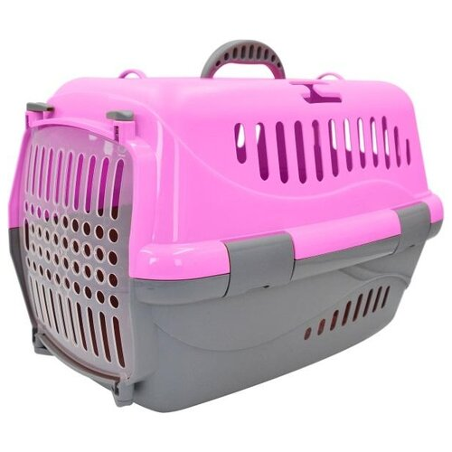Фото - Клиппер-переноска для кошек и собак Homepet HOMEPET 48 х 32 х 32 см 32х32х48 см розовый клиппер переноска для собак imac linus cabrio 50х32х34 см розовый