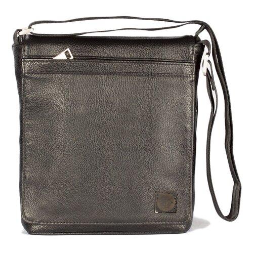 Сумка планшет SKIFFHAT 070-1, натуральная кожа, черный планшет