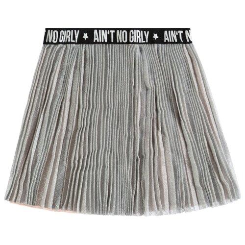 Юбка Tom Tailor размер 152, серый/розовый толстовка tom tailor размер 152 черный
