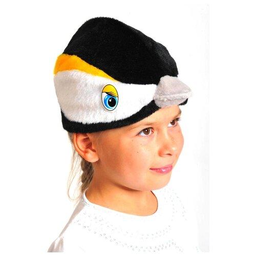 Купить Маска КарнавалOFF Синичка (4026), черный/желтый, размер 53-55, Карнавальные костюмы