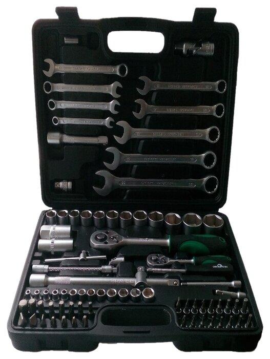 Купить Набор инструмента 82 предмета СЕРВИС КЛЮЧ 71082 по низкой цене с доставкой из Яндекс.Маркета (бывший Беру)