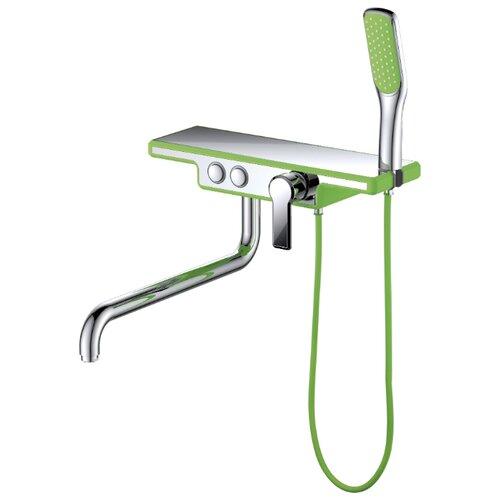 Душевой набор (гарнитур) D&K DA144331x комбинированное зеленый/хром душевой набор гарнитур argo 101