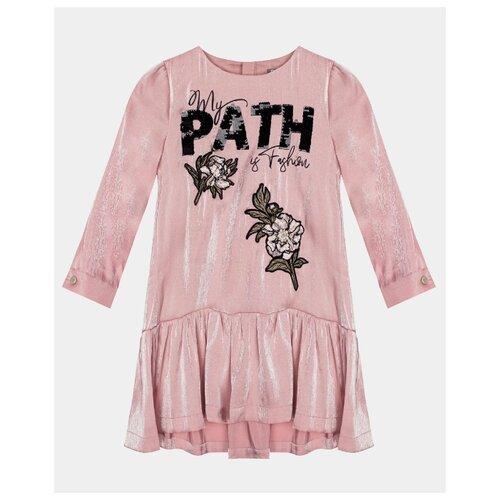 Купить Платье Gulliver размер 104, розовый, Платья и сарафаны