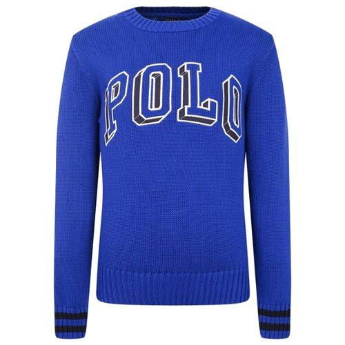 Купить Джемпер Ralph Lauren размер 92, синий, Джемперы и толстовки
