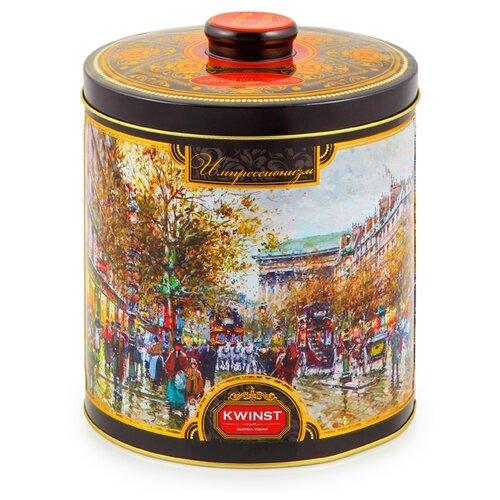 Чай черный Kwinst Утро в Париже , 300 г чай черный виноградное утро