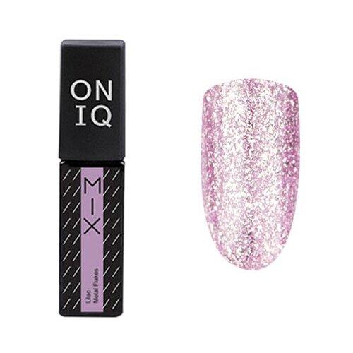 Гель-лак для ногтей ONIQ MIX, 6 мл, оттенок 107S Lilac Metal Flakes гель лак для ногтей oniq mix 6 мл оттенок 104s green and pink yuki flakes
