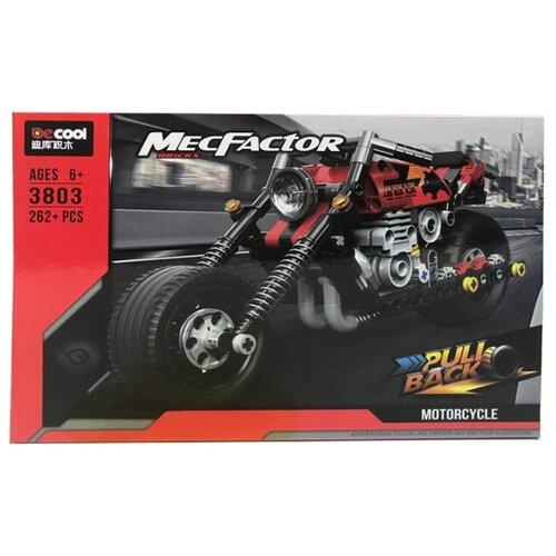 Купить Конструктор Jisi bricks (Decool) MecFactor 3803 Мотоцикл, Конструкторы