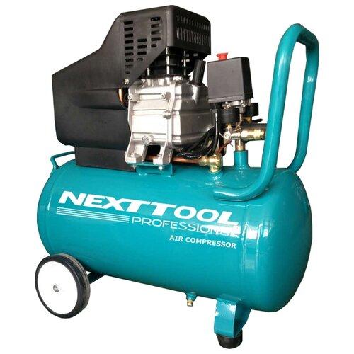 Компрессор масляный NEXTTOOL КМК-2100/50А, 50 л, 2.1 кВт компрессор масляный elitech кпм 360 25 25 л 2 2 квт