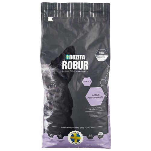 Сухой корм для собак Bozita Robur для здоровья кожи и шерсти, лось 12 кг