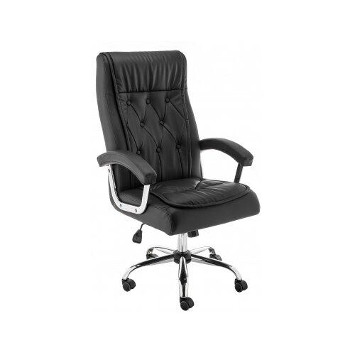 Фото - Компьютерное кресло Woodville Karter офисное, обивка: искусственная кожа, цвет: черный компьютерное кресло woodville rich офисное обивка искусственная кожа цвет коричневый