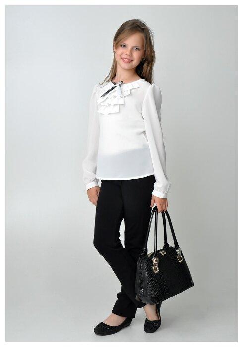 Блузка Ladetto размер 34, белый