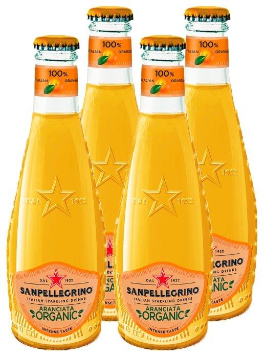 Газированный напиток Sanpellegrino Organic Aranciata — цены на Яндекс.Маркете